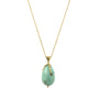 Load image into Gallery viewer, Turquoise Egg and Claw Necklace | Art + Soul Gallery