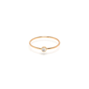 Single Diamond Ring | Art + Soul Gallery