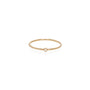 Load image into Gallery viewer, 14K White Diamond Thin Band | Art + Soul Gallery