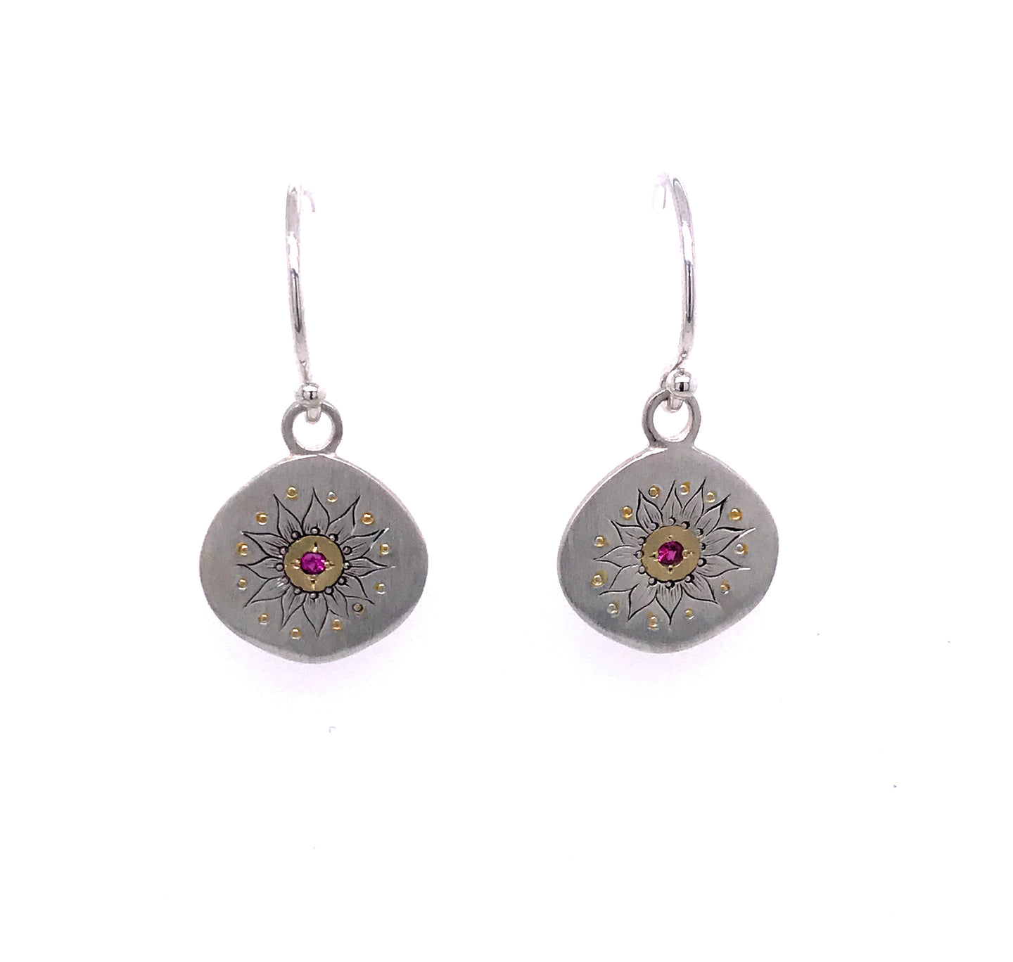 Soleil Ruby Earrings | Art + Soul Gallery