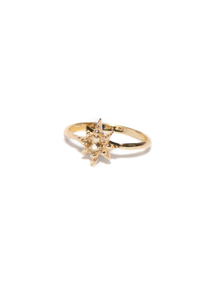 Aztec Micro Starburst Ring | Art + Soul Gallery