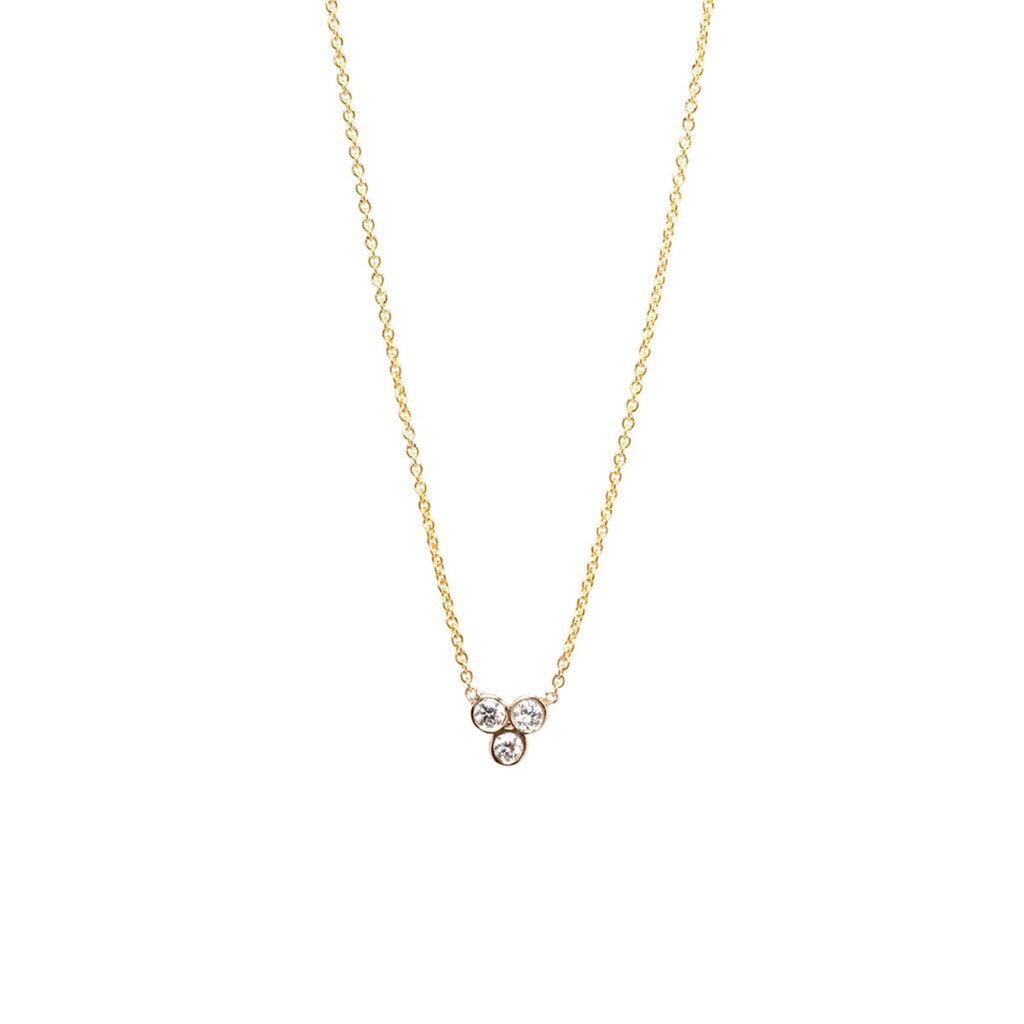 Trio Diamond Necklace | Art + Soul Gallery