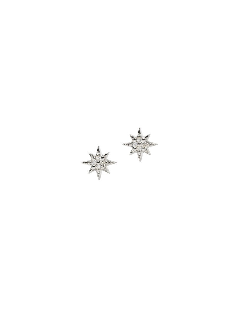 Micro Aztec North Star Studs | Art + Soul Gallery