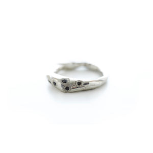 Stone Five Diamond Ring | Art + Soul Gallery