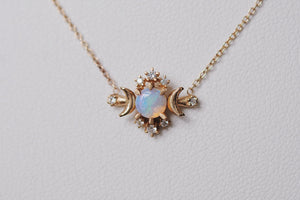 Opal Wandering Star Necklace | Art + Soul Gallery