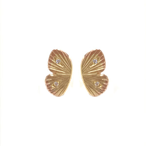 Baby Asterope Diamond Stud Earrings | Art + Soul Gallery