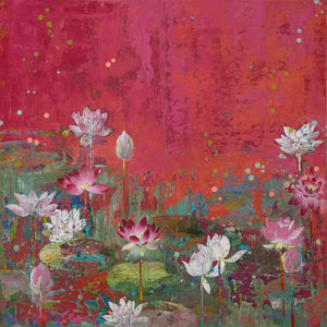 """In Beauty Like The Lotus"" Giclee 