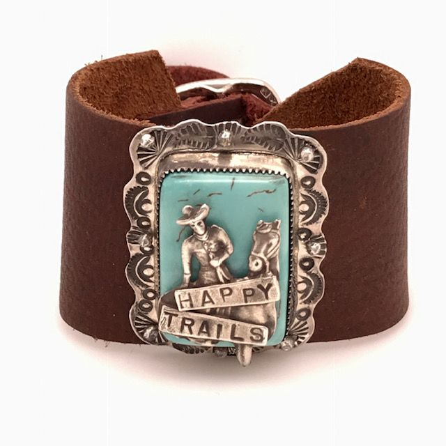 Happy Trails Leather Bracelet | Art + Soul Gallery