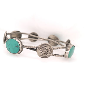 Rosary Coin Bangle | Art + Soul Gallery