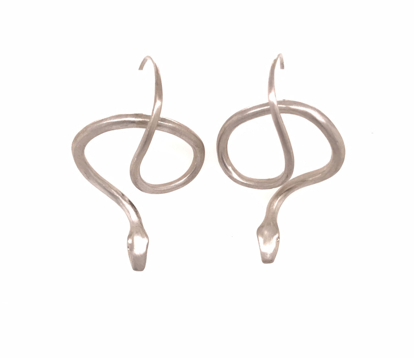 Sterling Silver Serpent Earrings | Art + Soul Gallery