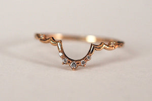 Diamond Vela Ring | Art + Soul Gallery