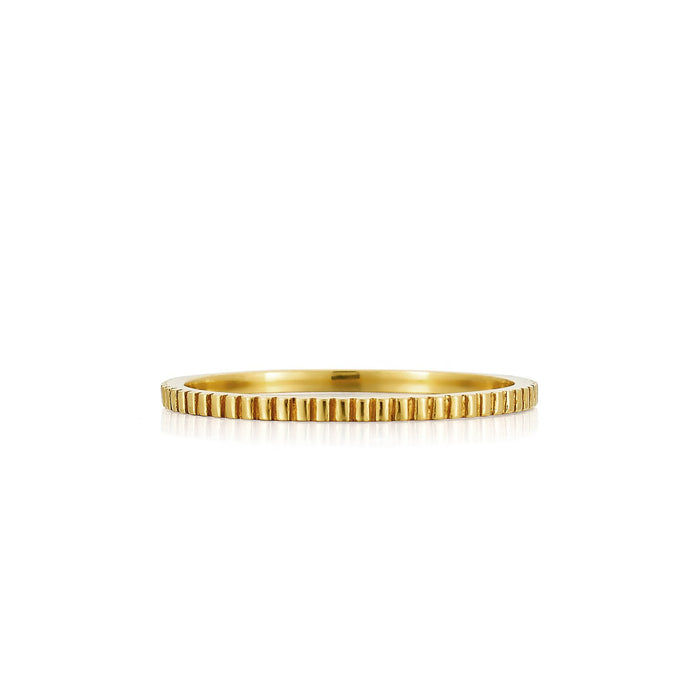 Lara Gold Eternity Band | Art + Soul Gallery