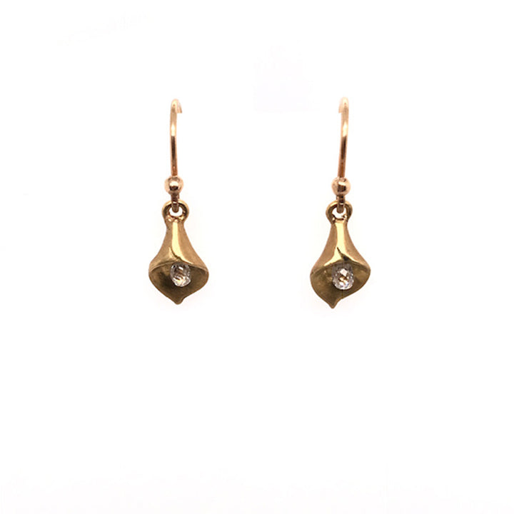 Small Calla Lily Earrings | Art + Soul Gallery