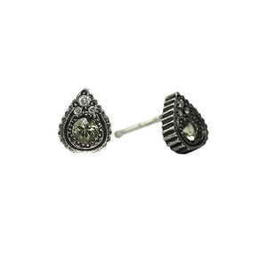 Minn Diamond and Sapphire Studs | Art + Soul Gallery