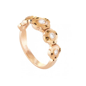 Rose Gold 'Flora' Ring | Art + Soul Gallery