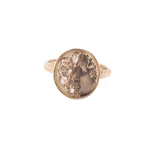 Pollux Champagne Diamond Ring
