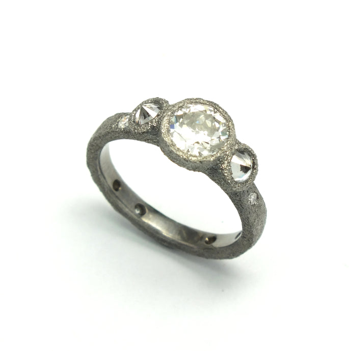 Old European Cut Diamond Solitaire | Art + Soul Gallery