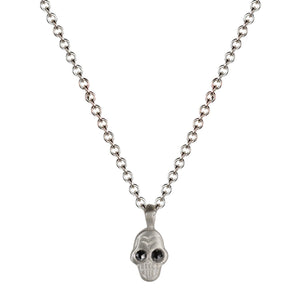Black Diamond Mini Skull Pendant | Art + Soul Gallery
