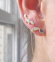 Load image into Gallery viewer, Opal Petal Ear Climber