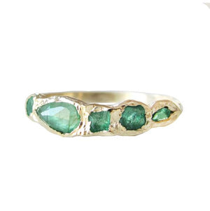 Journey Treasure Emerald Ring | Art + Soul Gallery