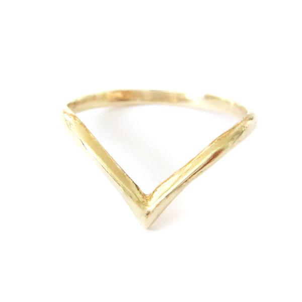 Gold Beak Ring | Art + Soul Gallery