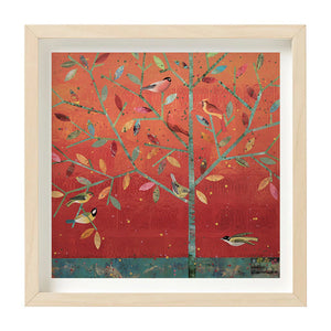 """Red Sky Tree"" Giclee 