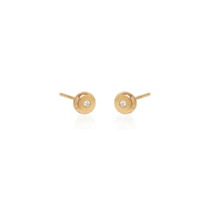 Small Nugget Diamond Studs | Art + Soul Gallery