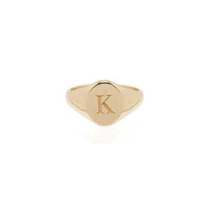 Engraved Signet Ring | Art + Soul Gallery