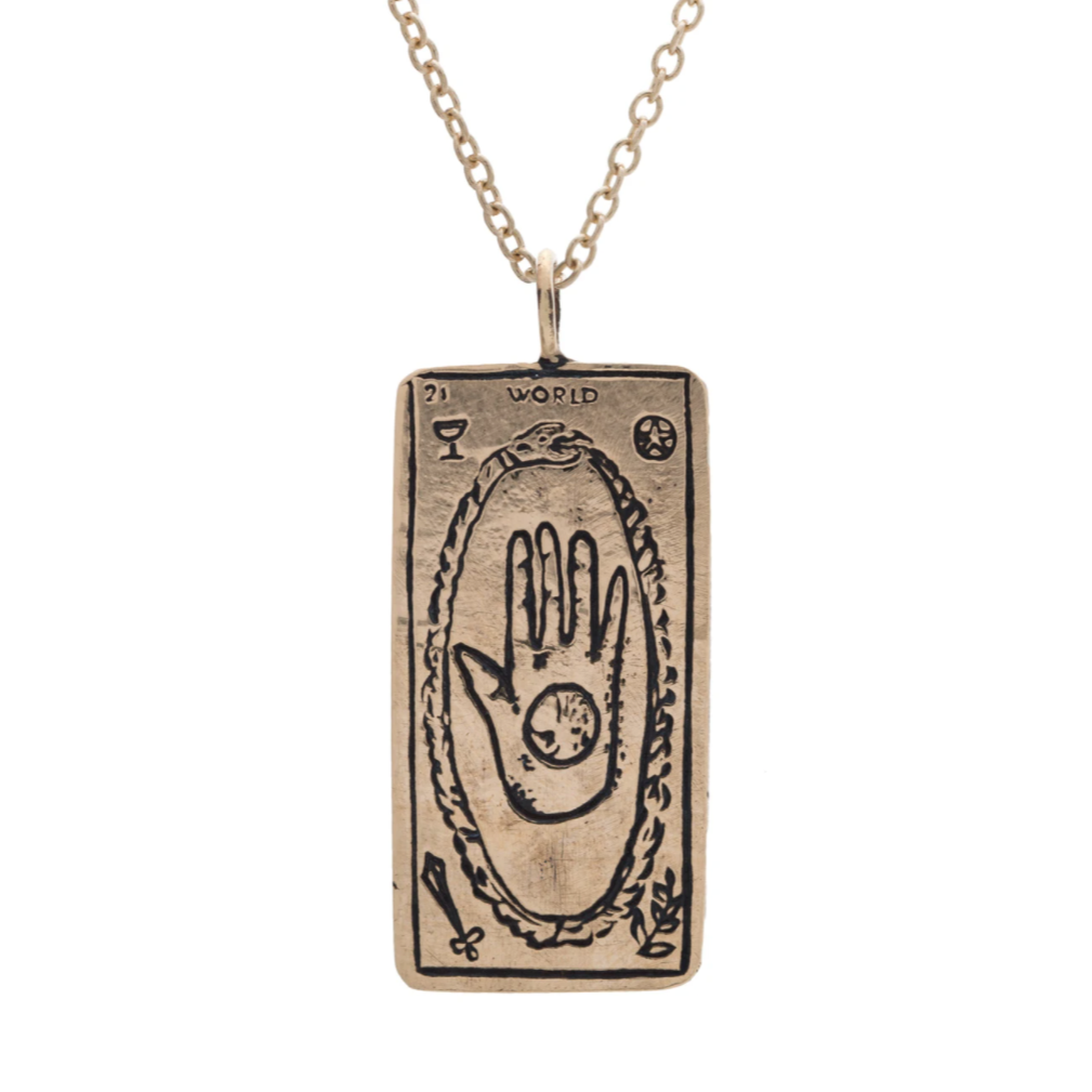The World Tarot Necklace