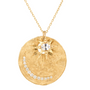 Load image into Gallery viewer, Sun and Moon Sapphire and Diamond Necklace