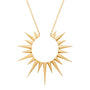 Load image into Gallery viewer, Small Full Sun Necklace