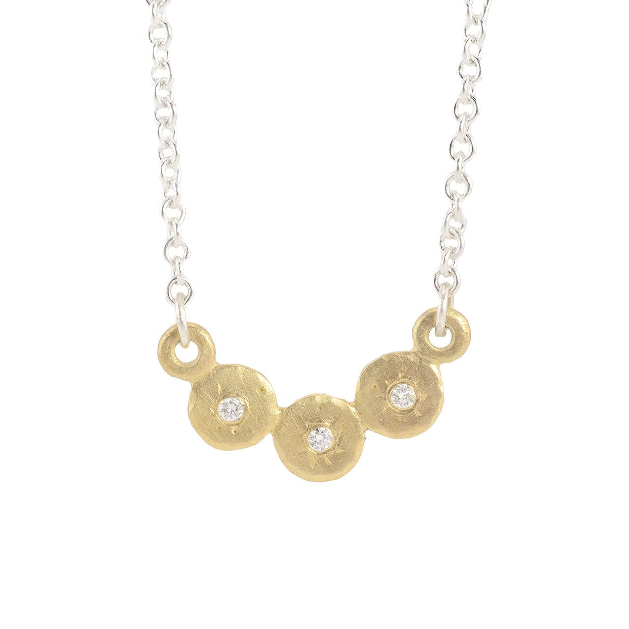 Mini Treasure Coin Bib Necklace