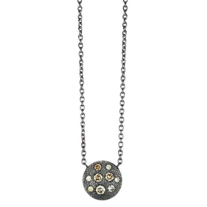 Carmen Champagne Diamond Necklace | Art + Soul Gallery