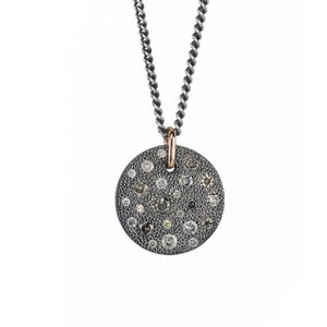 Carmen Champagne Diamond Pendant (No Chain)