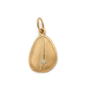 Charm-Single Diamond Mini Pod | Art + Soul Gallery