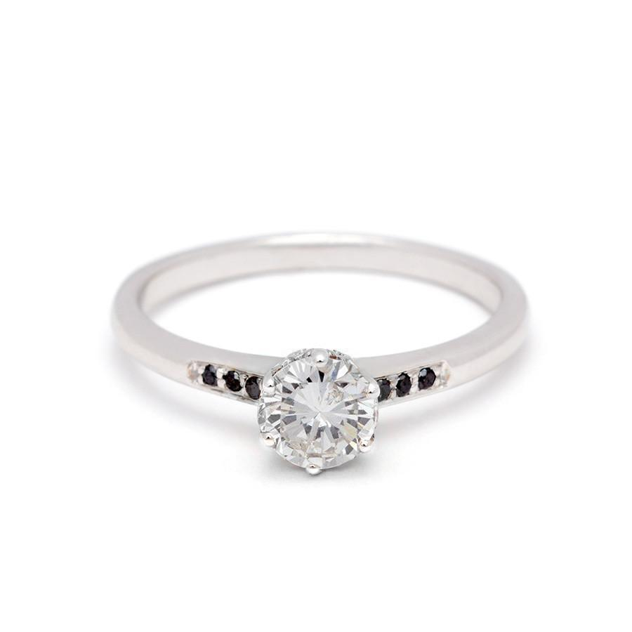 Hazeline Diamond Solitaire