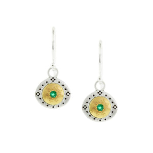 Emerald Seeds of Harmony Earrings