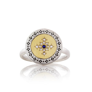 Round Seeds of Harmony Ring | Art + Soul Gallery