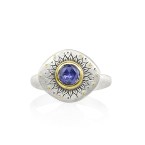 Soleil Sapphire Ring | Art + Soul Gallery