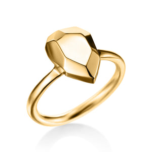 Gold Briolette Ring | Art + Soul Gallery