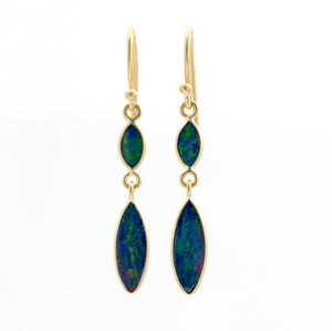 Boulder Opal Drop Earrings | Art + Soul Gallery