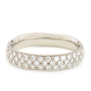 Triple Row Pave Band