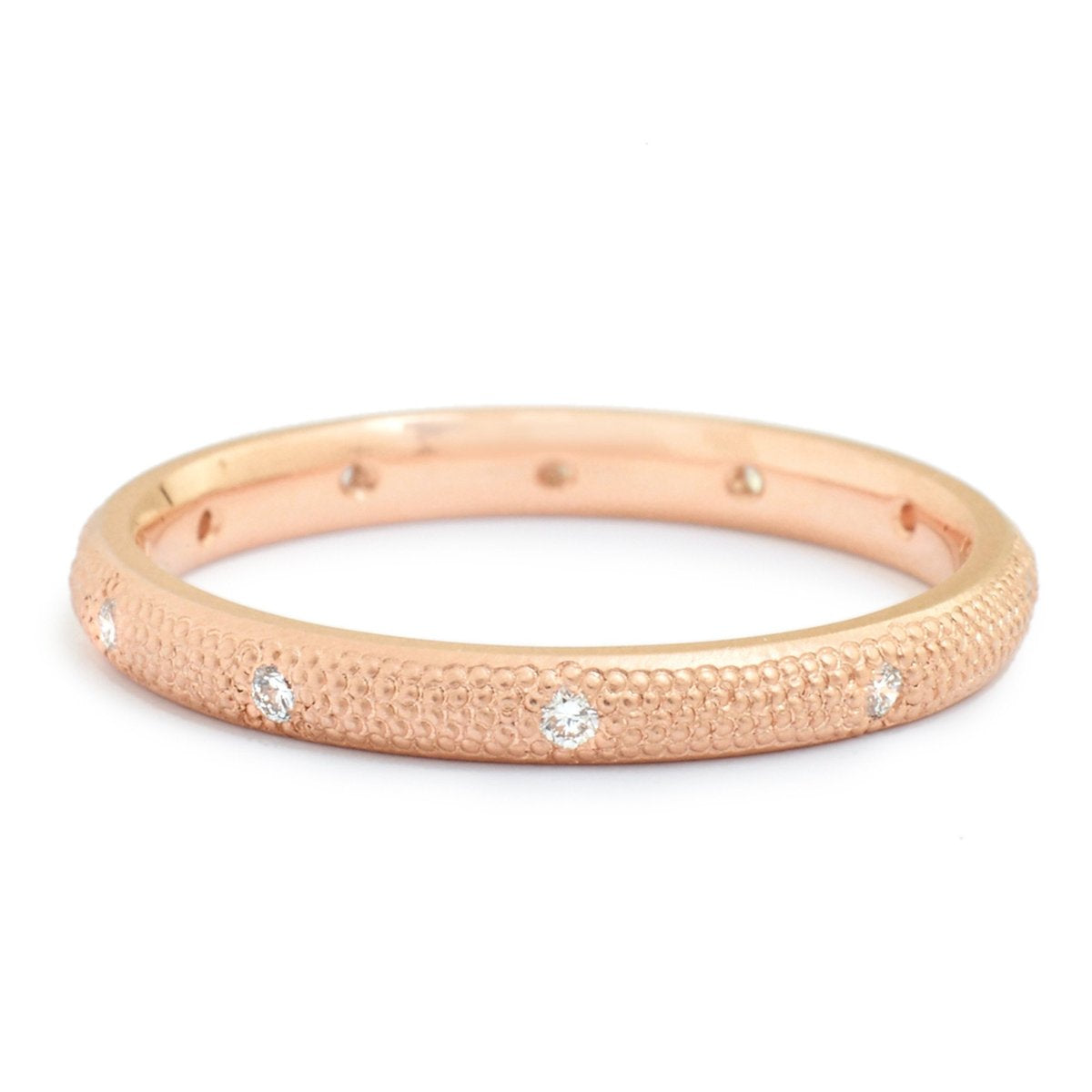 Stardust Band with Diamonds