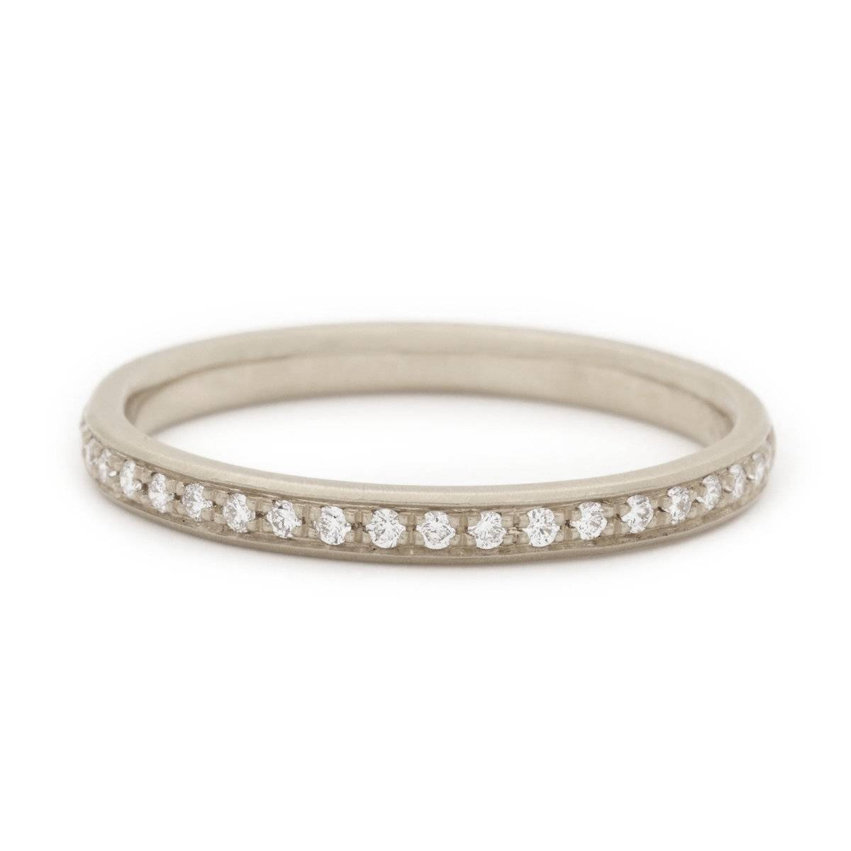Single Row Pave Band