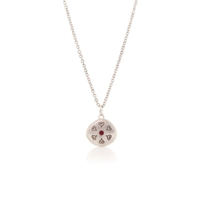 Ruby All My Love Pendant