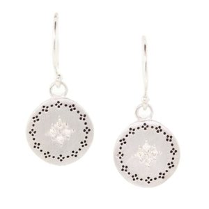 Diamond Four Star Nostalgia Earrings