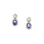 Load image into Gallery viewer, Oval and Round Sapphire Studs | Art + Soul Gallery