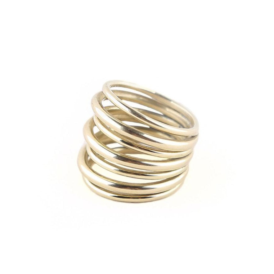 Gold Layered Strand Ring | Art + Soul Gallery
