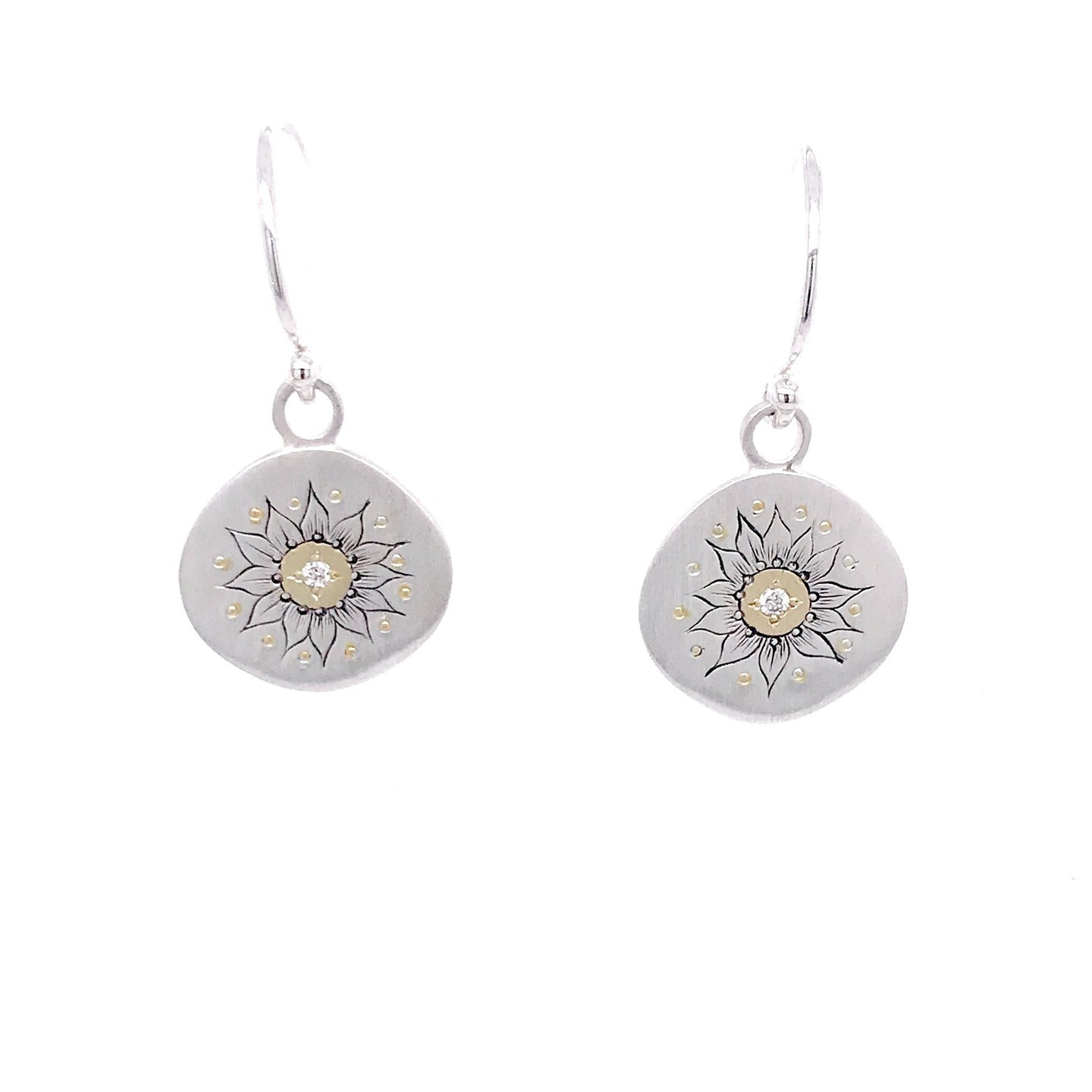 Soleil Diamond Earrings