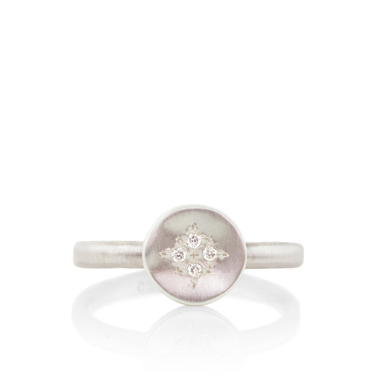 Small Four Star Wave Charm Ring | Art + Soul Gallery